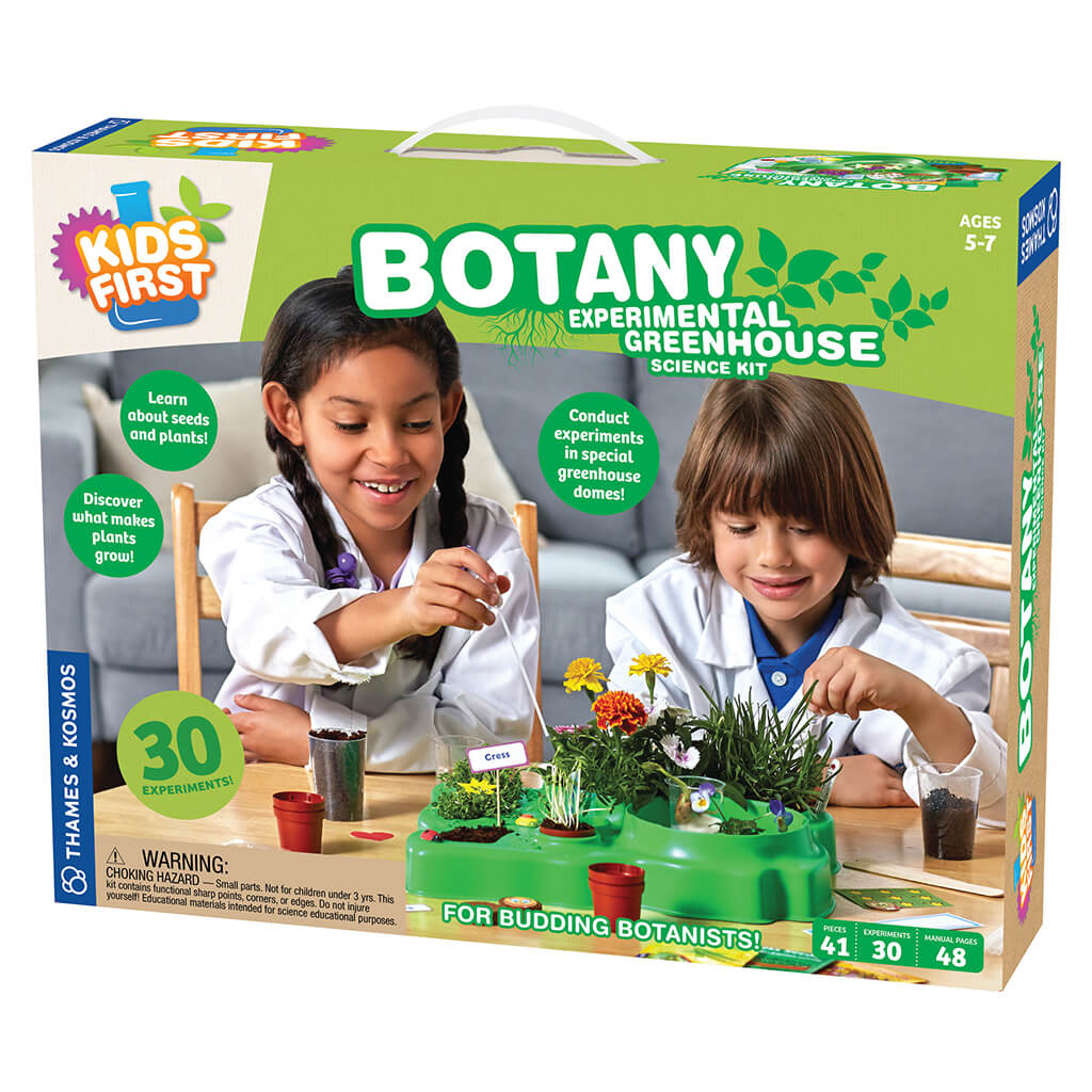 Botany Experimental Greenhouse Science Kit by Kids First - Steam Rocket
