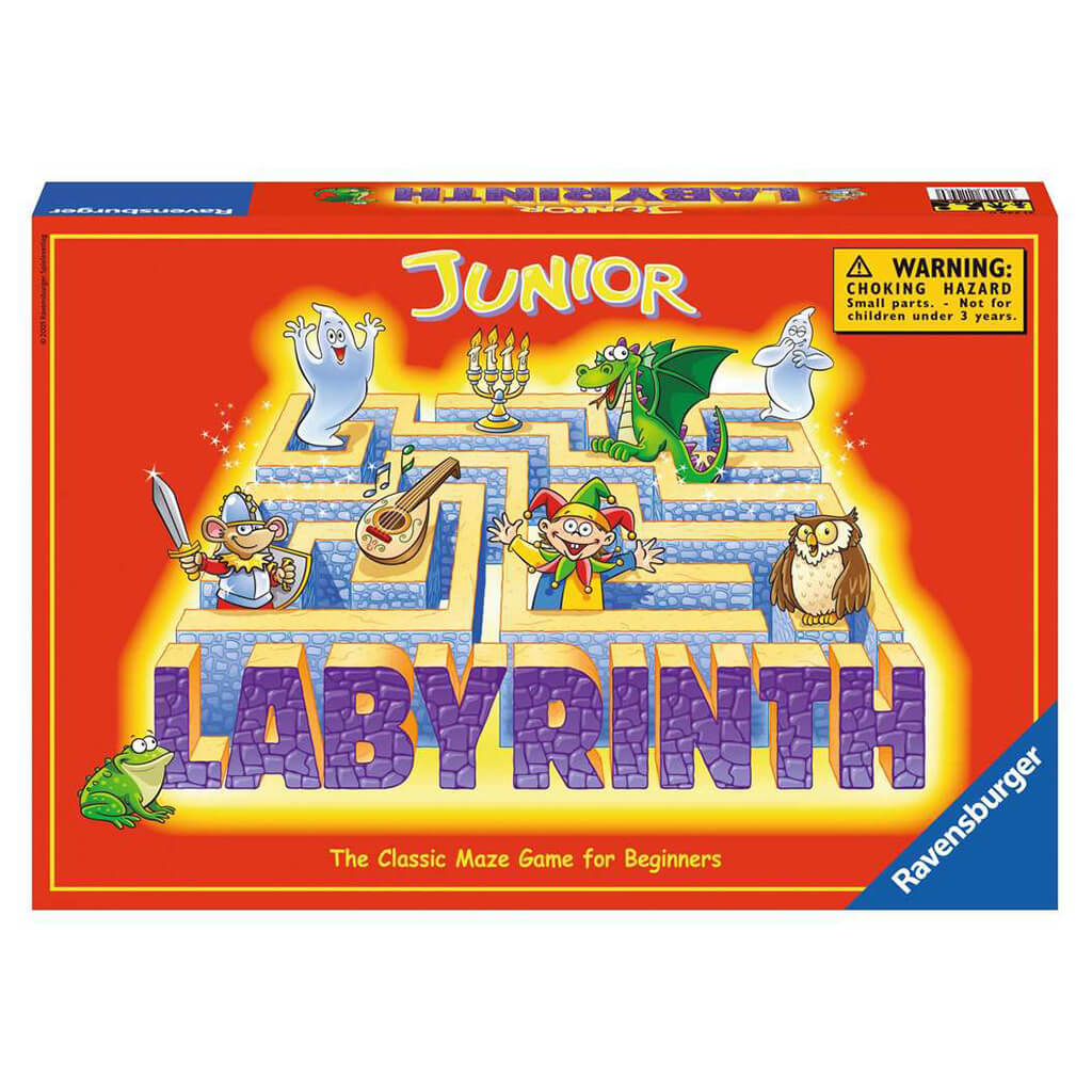 Labyrinth Junior Board Game - Steam Rocket