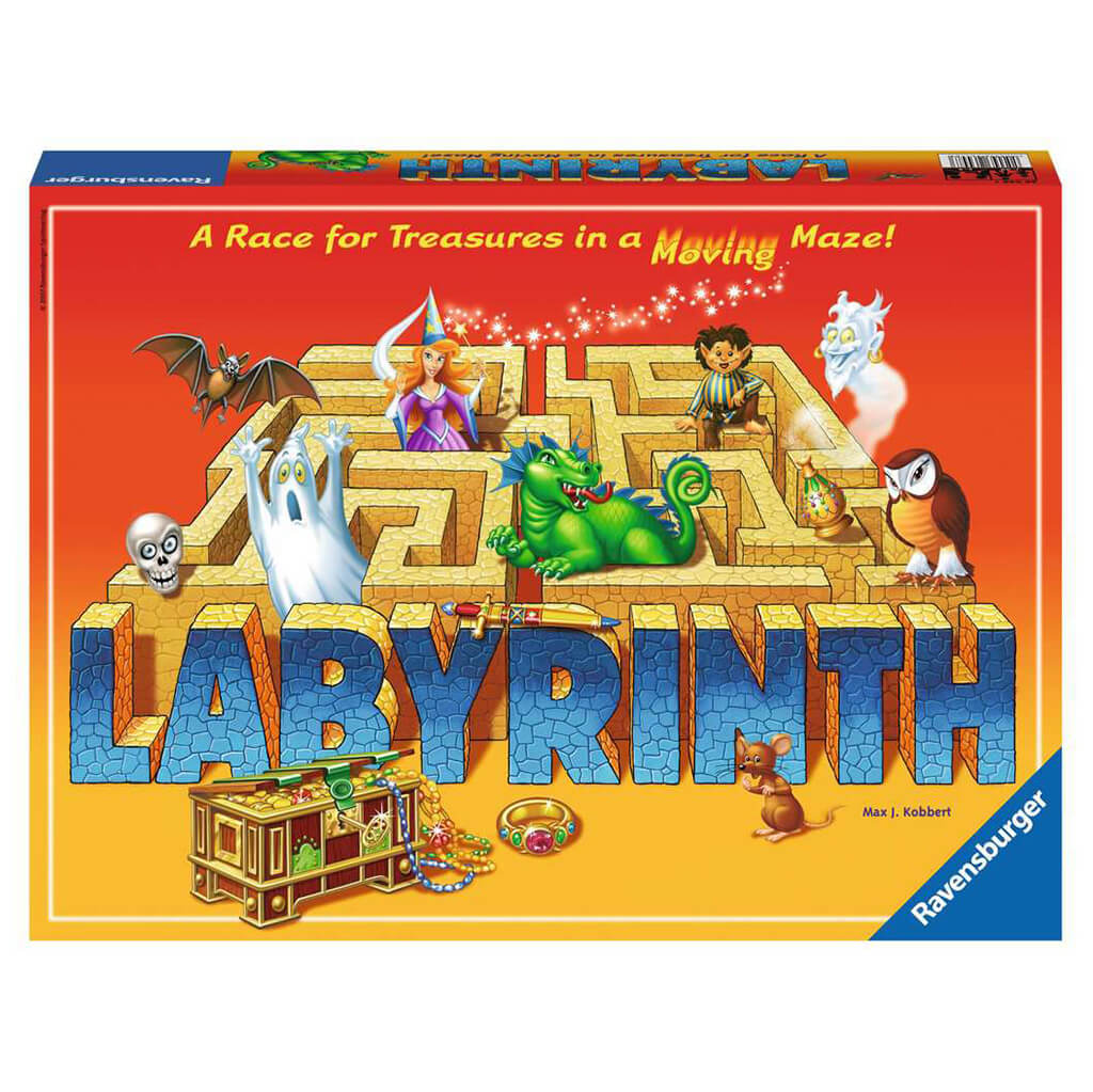 Labyrinth Family Board Game - Steam Rocket