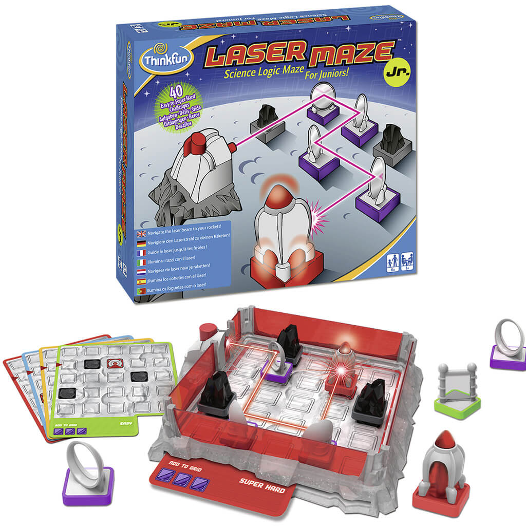 Laser Maze Junior Logic Puzzle Game - Steam Rocket