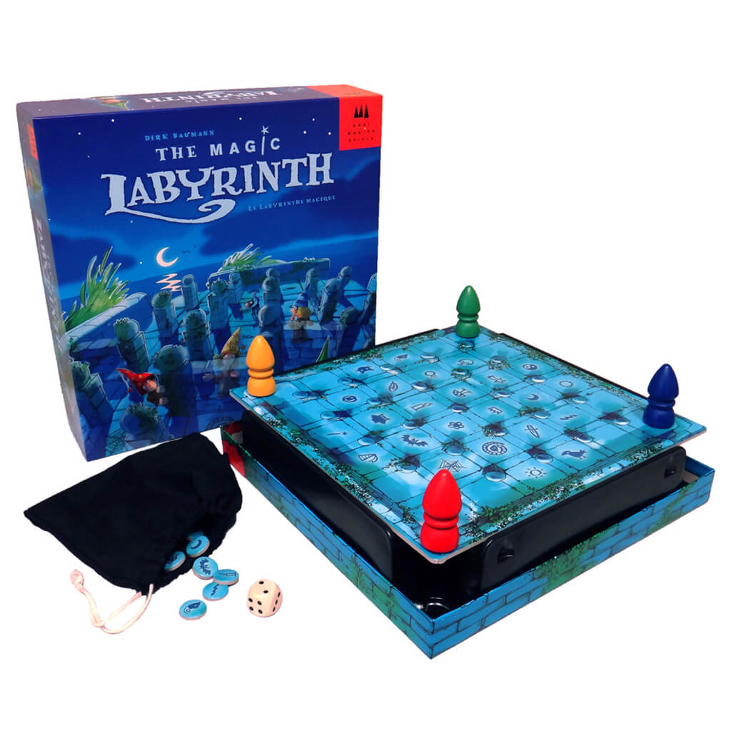 Magic Labyrinth Memory Board Game - Steam Rocket