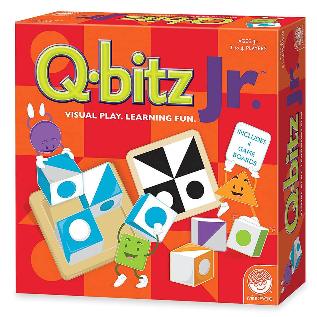 Q-Bitz Junior Puzzle Game - Steam Rocket