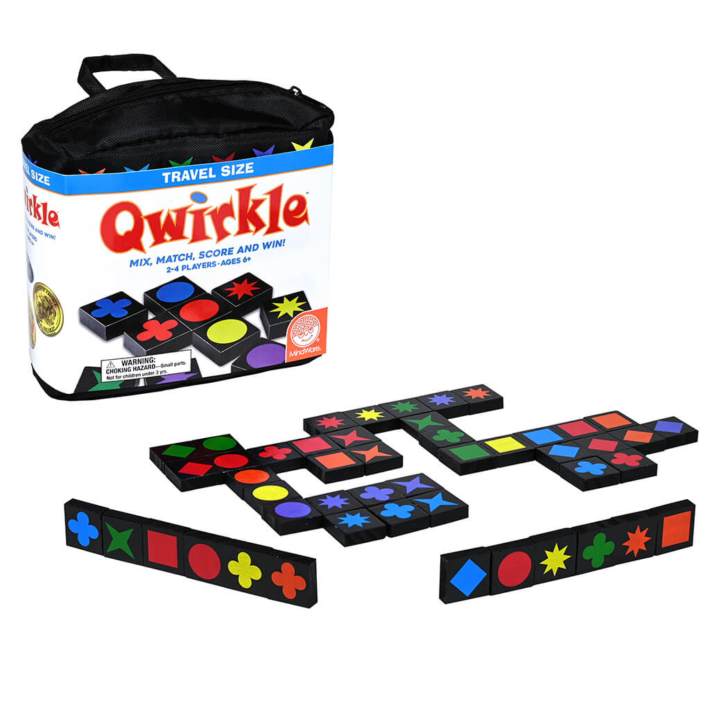 Qwirkle Travel Game - Steam Rocket