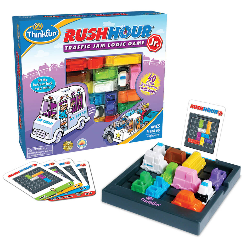 Rush Hour Junior Logic Puzzle Game - Steam Rocket