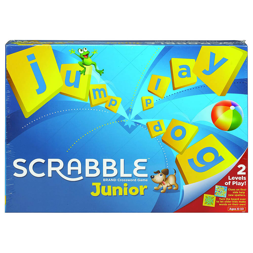 Scrabble Junior - Steam Rocket