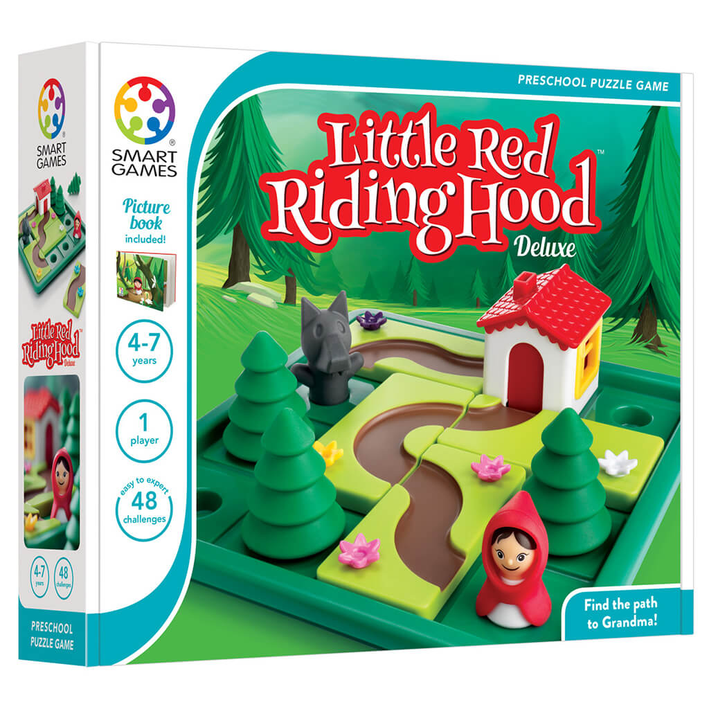 Little Red Riding Hood Puzzle Game - Steam Rocket