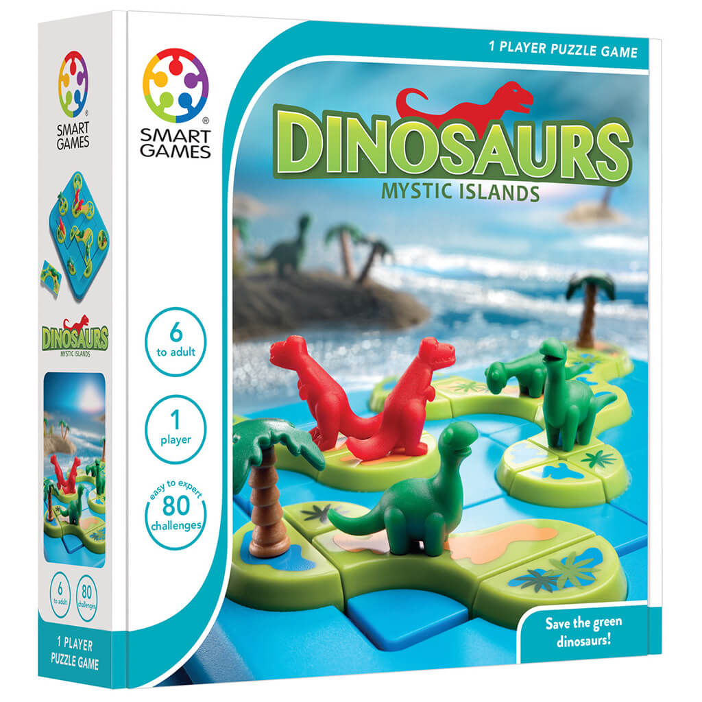 Dinosaurs Mystic Islands Puzzle Game - Steam Rocket