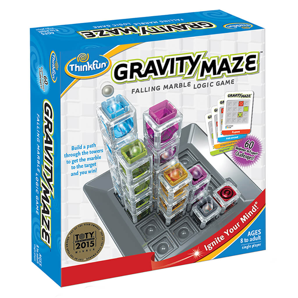 Gravity Maze Falling Marble Logic Game - Steam Rocket