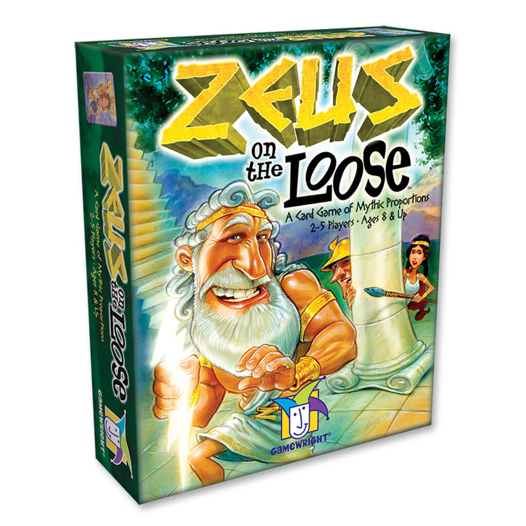 Zeus On The Loose Card Game - Steam Rocket