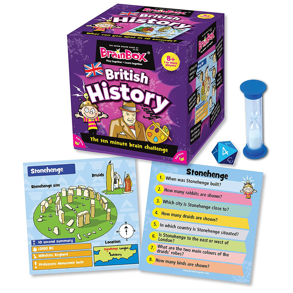 Brainbox: British History Memory Game - Steam Rocket