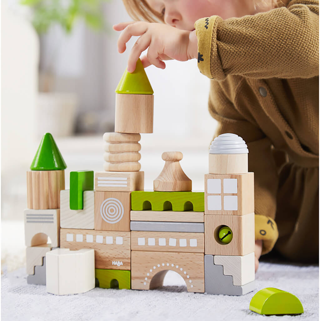 Wooden Building Blocks: Coburg - Steam Rocket