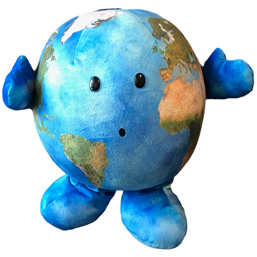 Earth Our Precious Planet Soft Toy - Steam Rocket