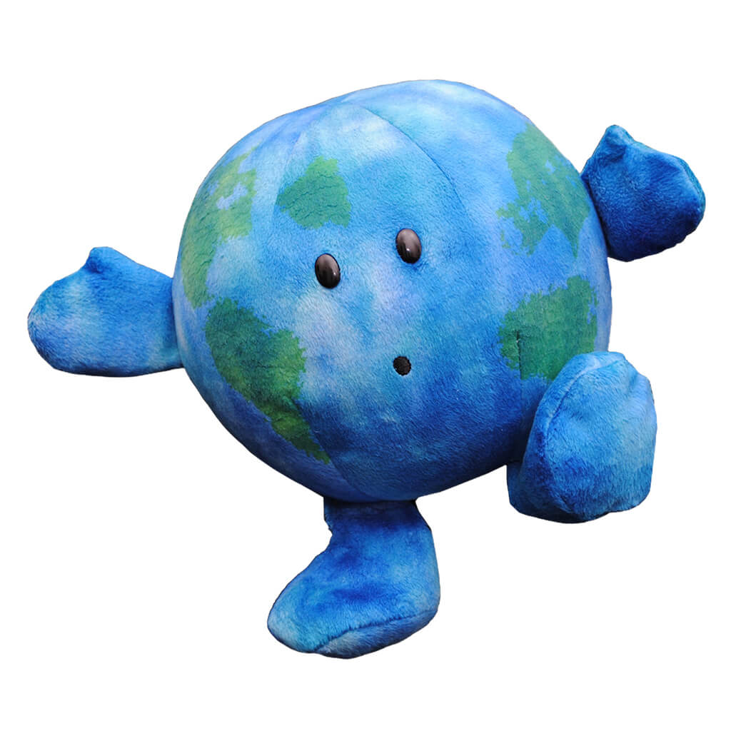 Earth Soft Toy - Steam Rocket