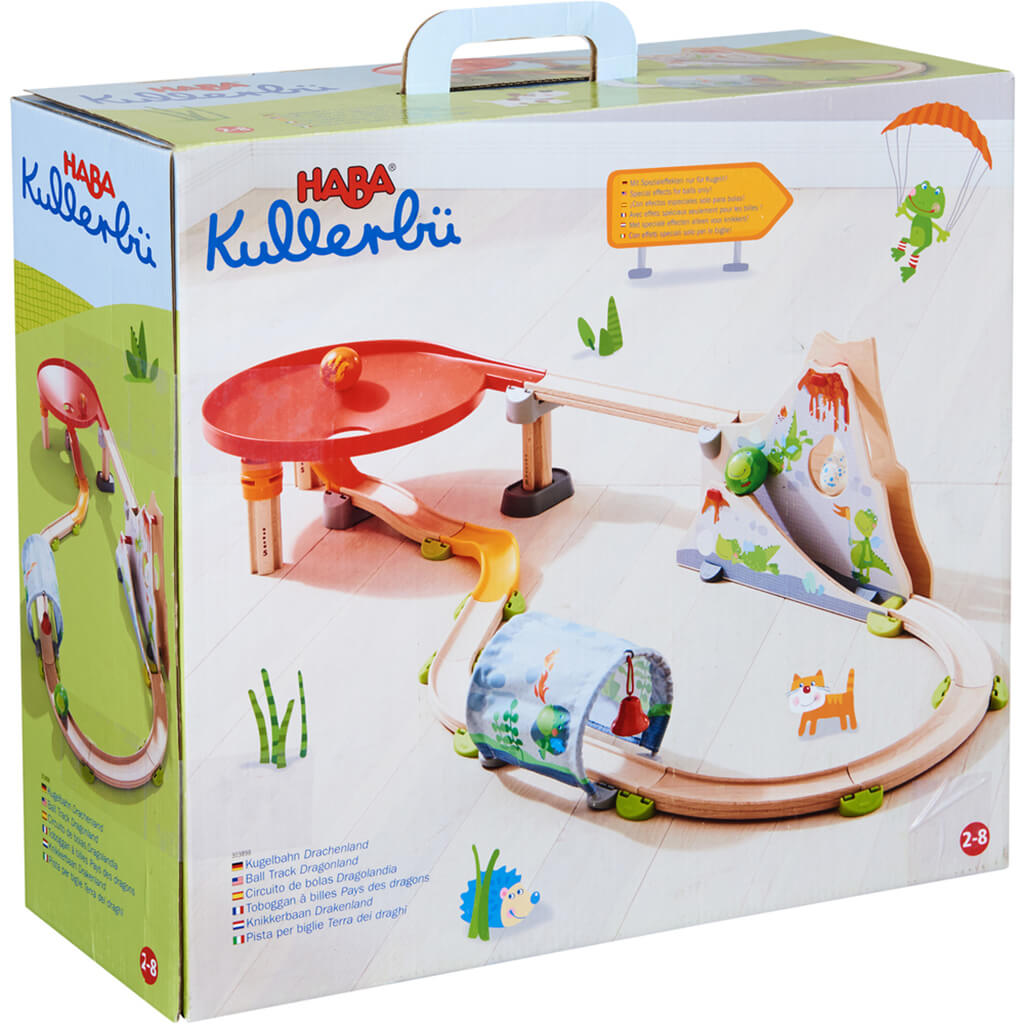 Kullerbü Wooden Ball Track - Dragonland - Steam Rocket