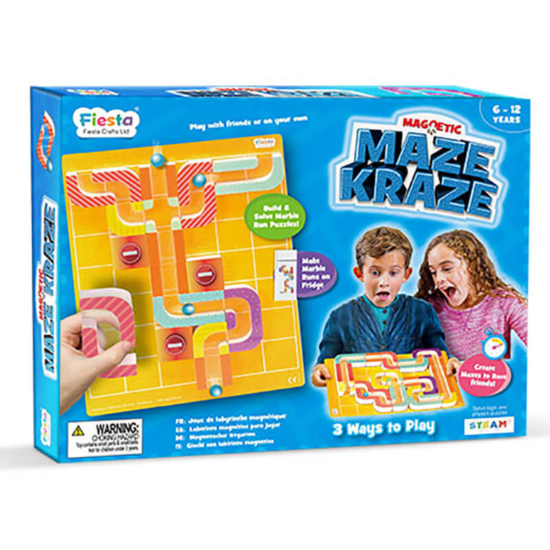 Maze Craze Magnetic Puzzle Game - Steam Rocket