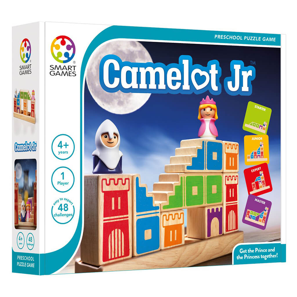 Camelot Jr Wooden Logic Puzzle Game - Steam Rocket