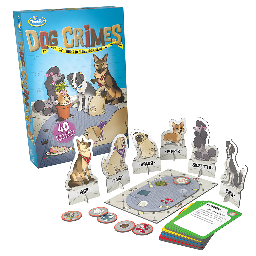 Dog Crimes Logic Puzzle Game - Steam Rocket