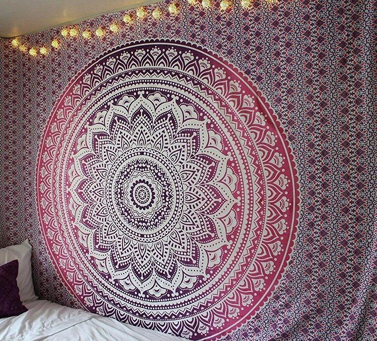 Mandala Tapestry Yoga Tapestry Wall Hanging Tapestry Wall Backdrop Room Decoration Tapestry