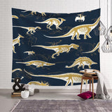 Dinosaur Tapestry Wall Hanging Tapestry Wall Backdrop Room Decoration Tapestry