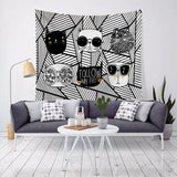 Cartoon Tapestry Wall Hanging Tapestry Wall Backdrop Room Decoration Tapestry