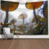 Psychedelic Tapestry Mushroom Tapestry Wall Hanging Tapestry Wall Backdrop Room Decoration Tapestry