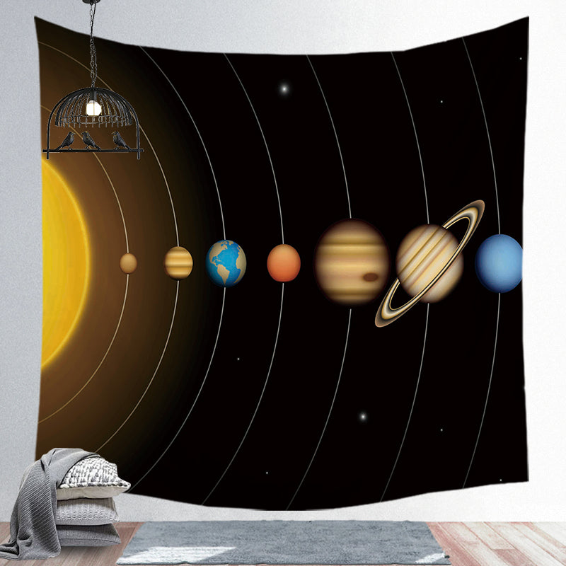 Universe Tapestry Planet Tapestry Wall Hanging Tapestry Wall Backdrop