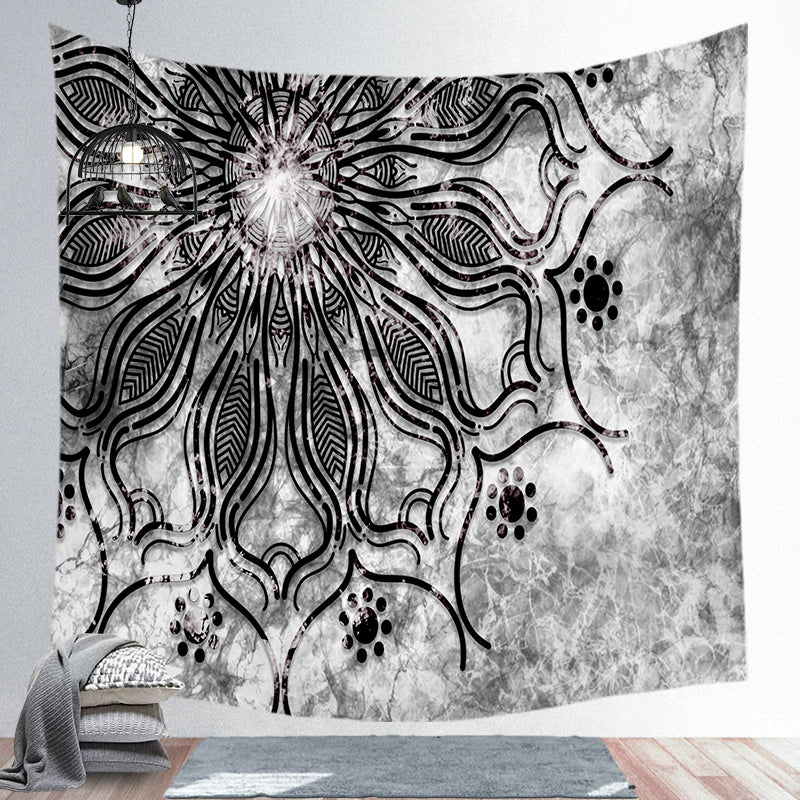 Wholesale Custom Mandala Background Tapestry Bohemian Style Tapestry Nordic Style Wall Cloth.