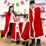 Red Christmas Cloak Flannel Little Red Riding Hood Cloak