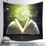 Starry Sky Horoscope Astrolabe Tapestry Home Decoration Background Wall Hanging Cloth Square Tapestry