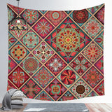 Wholesale Custom Mandala Background Tapestry Bohemian Style Tapestry Nordic Style Wall Cloth