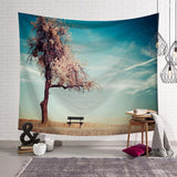 Nature Scenery Tapestry Tree Tapestry Wall Hanging Cloth Wall Tapestry Wall Backdrop