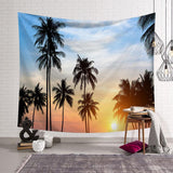 Coconut Tree Tapestry Wall Hanging Cloth Room Decoration Tapestry