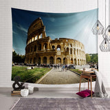 World Landmark Building Tapestry Wall Hanging Tapestry Wall Backdrop Bedding Room Decoration Tapestry