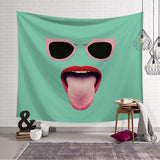Mouth Tapestry Wall Hanging Tapestry Wall Backdrop Room Decoration Tapestry