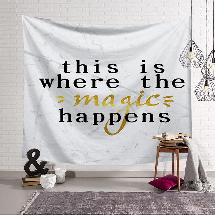 Marble Style Tapestry Wall Hanging Tapestry Wall Backdrop Room Decoration Tapestry
