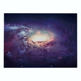 Customized Universe Starry Sky Printing Cotton Linen Western Placemat Rectangular Placemat Heat Insulation Table Mat