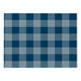 Customized Plaid Printing Series Placemat Nordic Style Cotton Linen Non-slip Insulation Table Mat