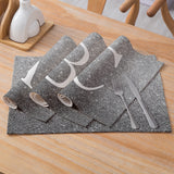 Customized Alphabet Cotton & Lined Placemats