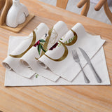 Customized Alphabet Linen Placemats
