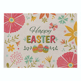 Cartoon Eggs Placemats Easter Placemats Happy Easter Placemats