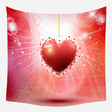 Valentine's Day Tapestry Nordic Wall Cloth Wall Background Tapestry Wall Backdrop