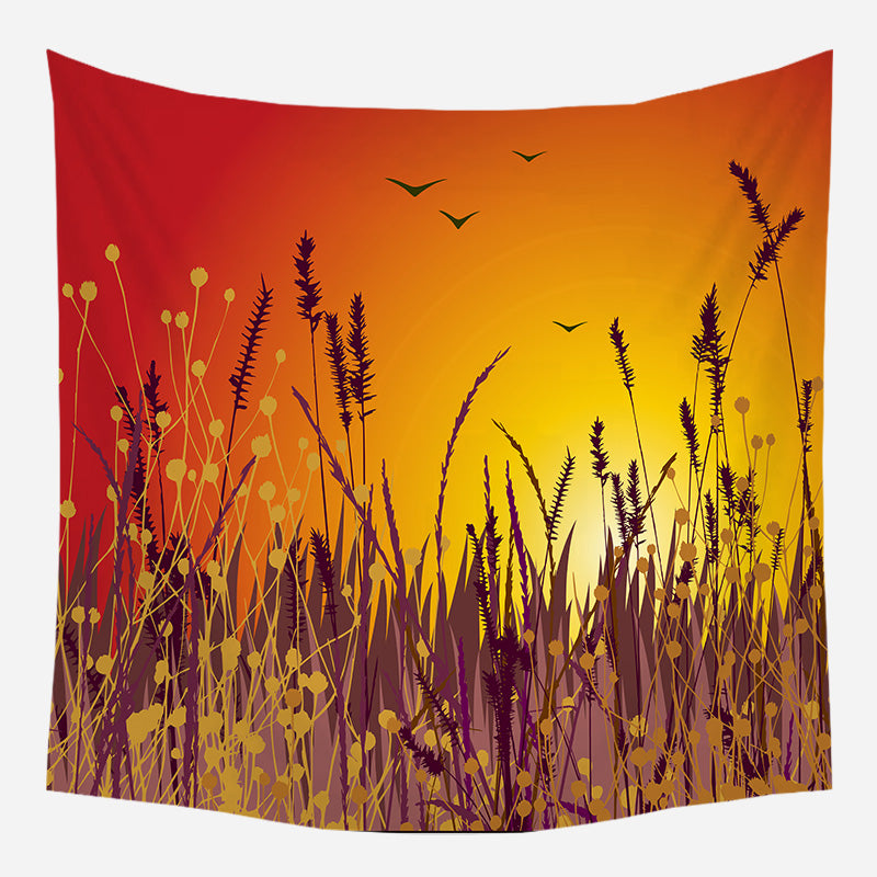 Wholesale Custom Bohemian Series Hanging Cloth Landscape Tapestry Cloth Night Sky Background Cloth