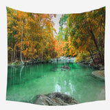 Wholesale Custom Digital Printing Shade Cloth Landscape Tapestry Live Broadcast Cloth