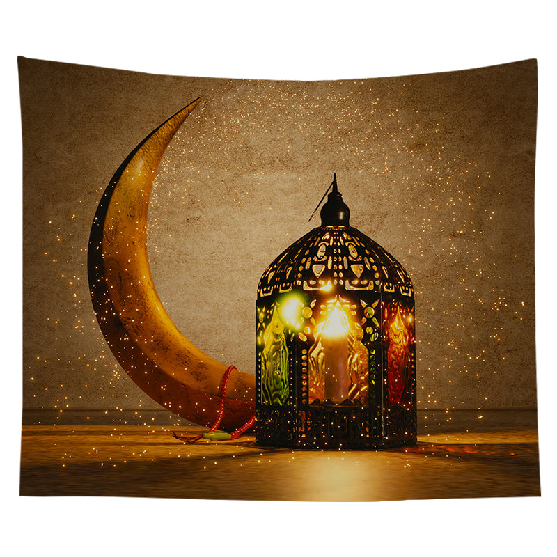 Wholesale Custom Ramadan Tapestry Wall Background Tapestry Hanging Cloth