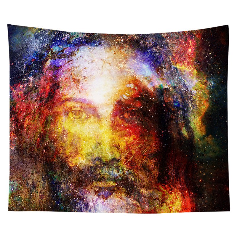 Wholesale Custom Nordic Style Hanging Cloth Background Cloth Christian Jesus Tapestry