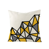 Wholesale Custom Homeware Classic Simple Geometric Hug Linen Pillowcase Office Waist Pillowcase