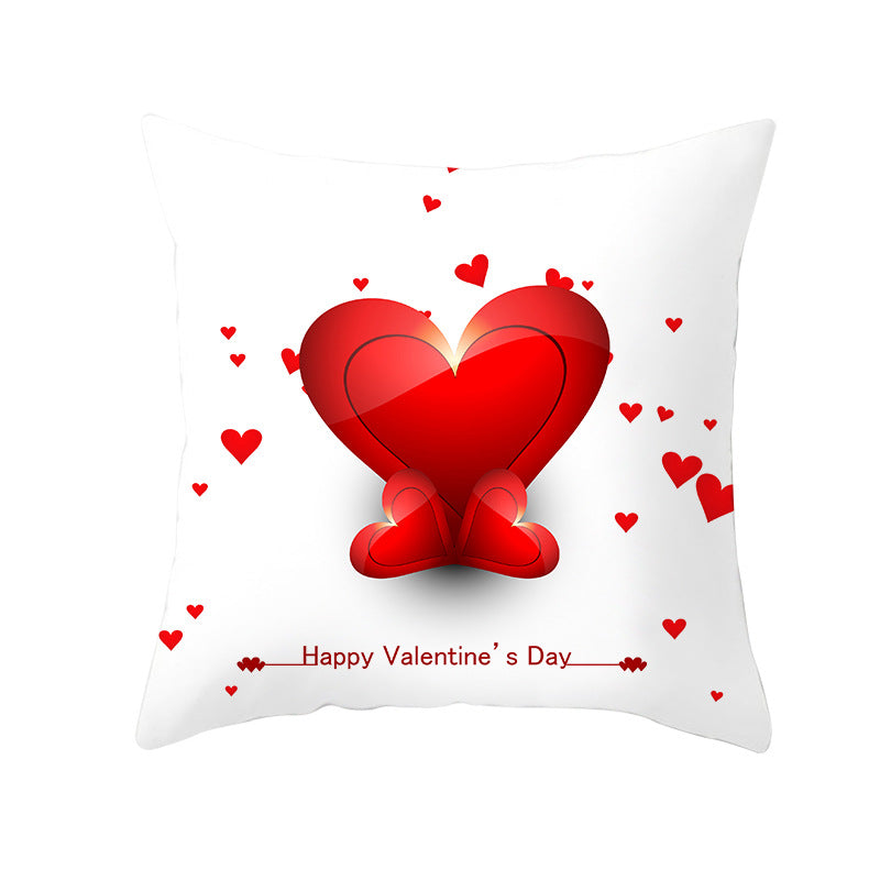 Wholesale Custom  Valentine's Day Love Tree Series Pillowcase Valentine's Day Pillowcase TPR238