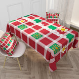 Customized Cotton & Linen Tablecloth INS Style Plant Series Tablecloth Coffee Tablecloth