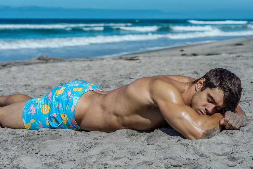 How to Make Your Abs Pop -HUNK Menswear Swimwear HUNK2