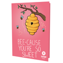 VALENTINE'S DAY BEES (ILLUSTRATED) - thumbnail